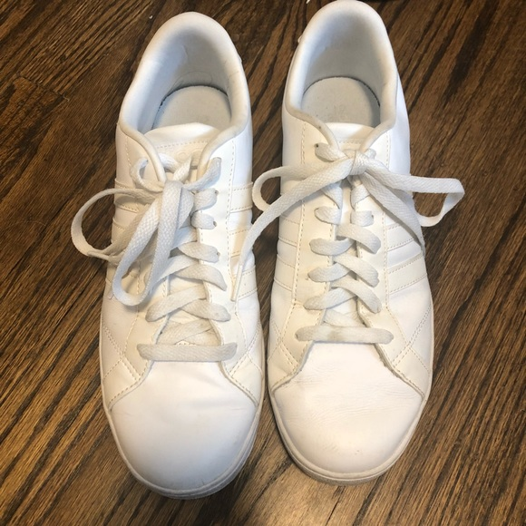 Classic Adidas Neo White Sneaker Shoes Men's